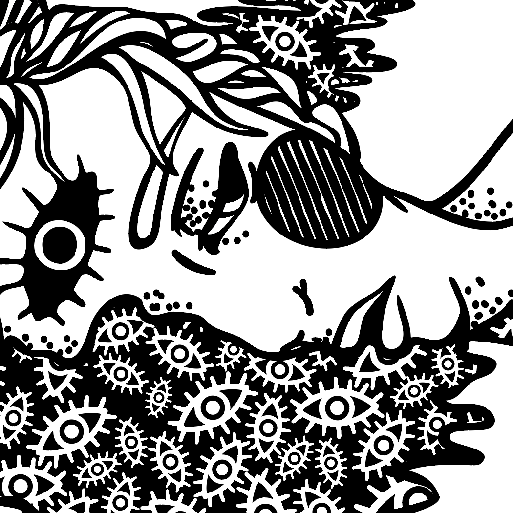 Drowning In Patterns, Detail Highlight B