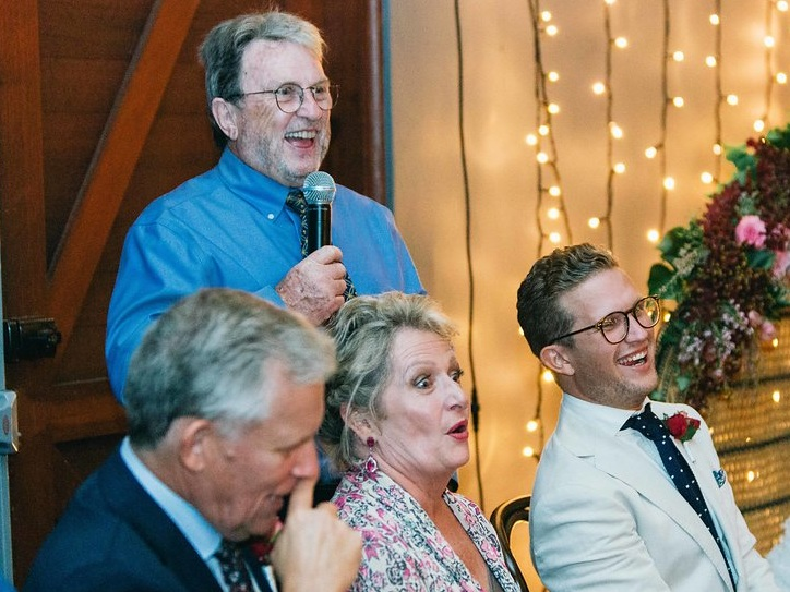 Wedding speeches causing concern? - With these tips anyone can get the Bride and Groom in fits of laughter and blushing for all the right reasons.