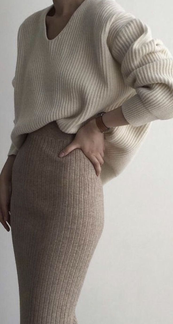 Winter Luxe - Soft knits and warm textures