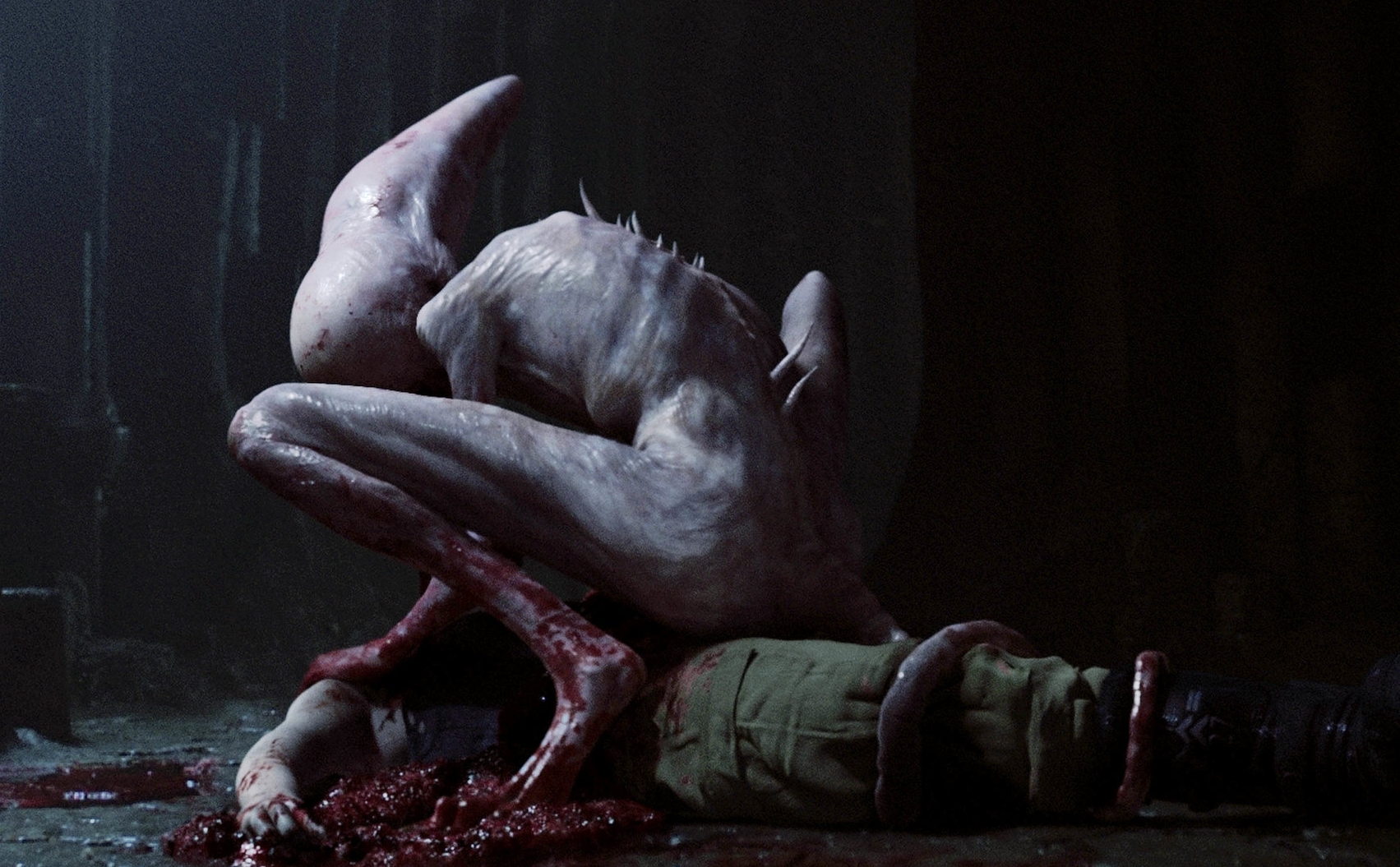 Mutant xenomorph in Alien: Covenant
