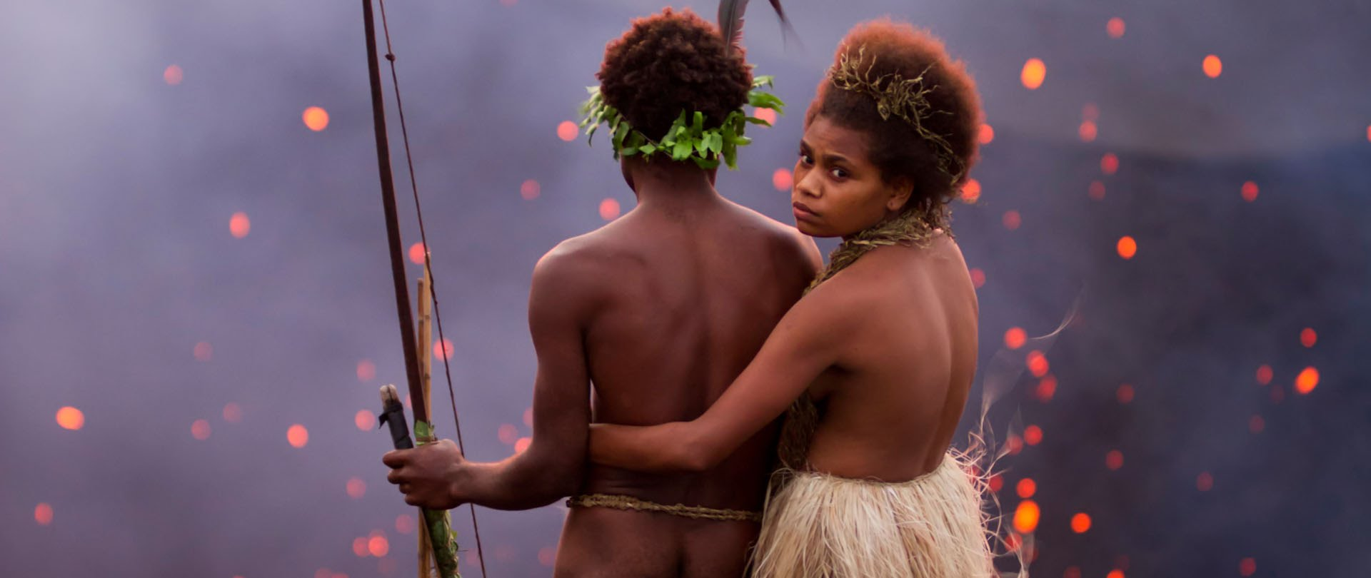 Marie Wawa and Mungau Dain in Tanna
