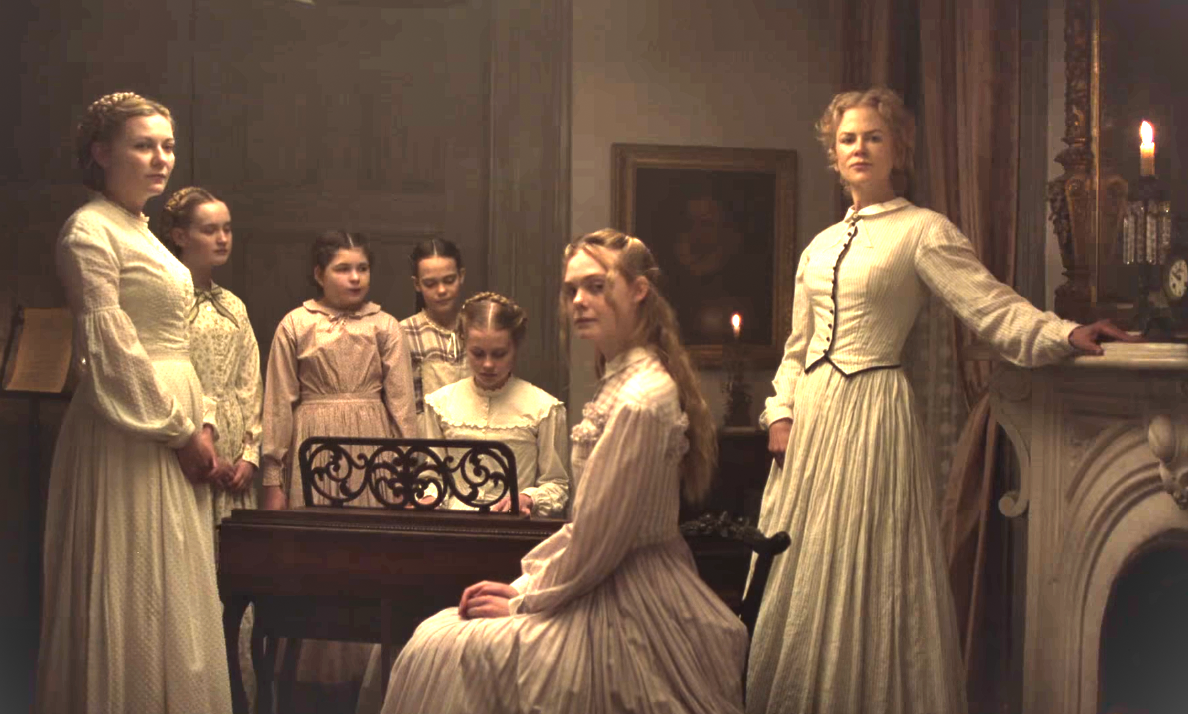 A quiet moment in a war of sexual possession in The Beguiled