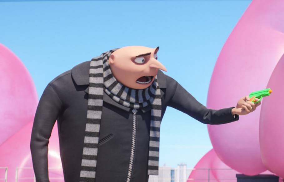 Gru: Still despicable after all these years