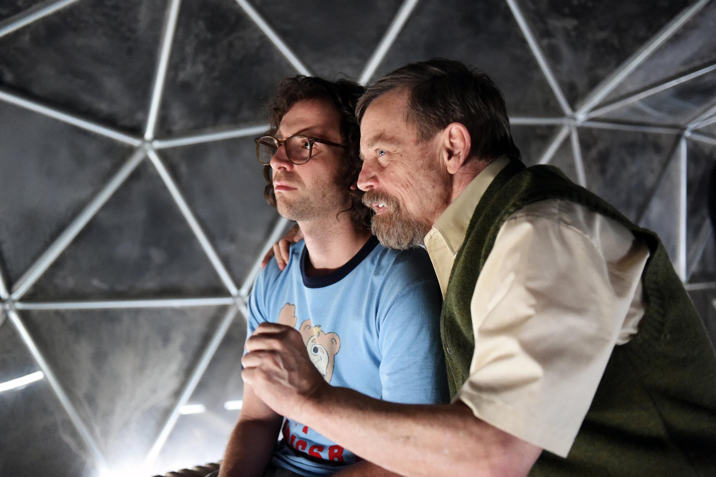 Kyle Mooney and Mark Hamill