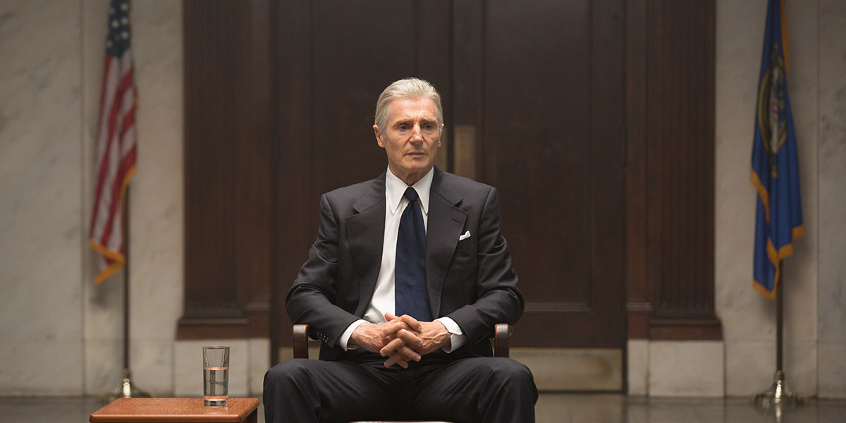 Liam Neeson as Mark Felt: The Man Who Brought Down The White House