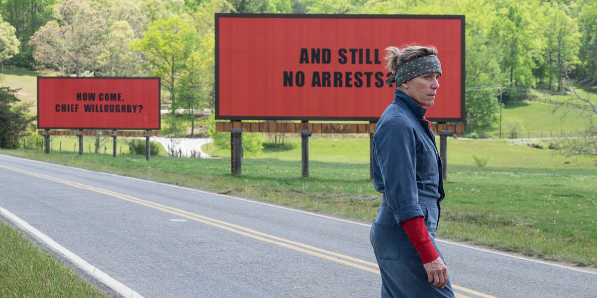 Three Billboards... could add another Oscar to Frances McDormand's mantel.