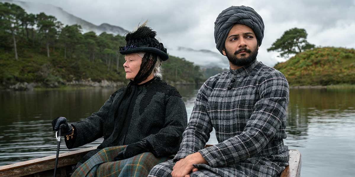 Dame Judi Dench and Ali Fazal in Victoria and Abdul.