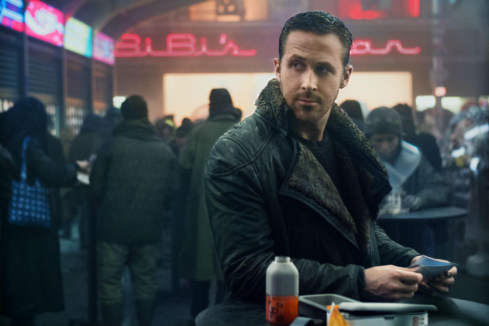 Ryan Gosling in a scene from Blade Runner 2049.