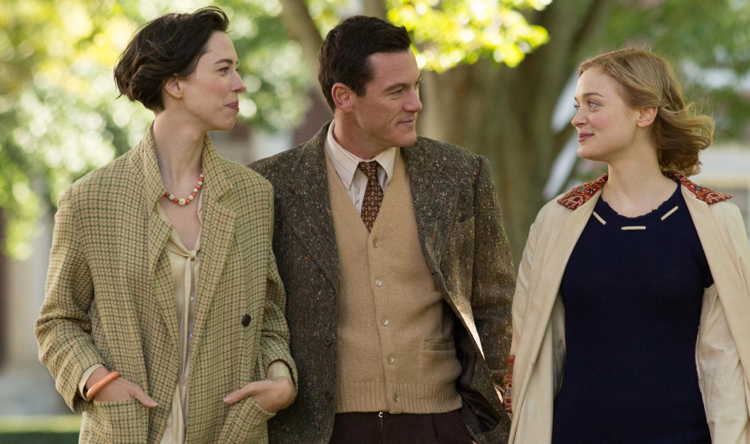 Three's company:Hall, Evans and Heathcote in Professor Marston & The Wonder Women