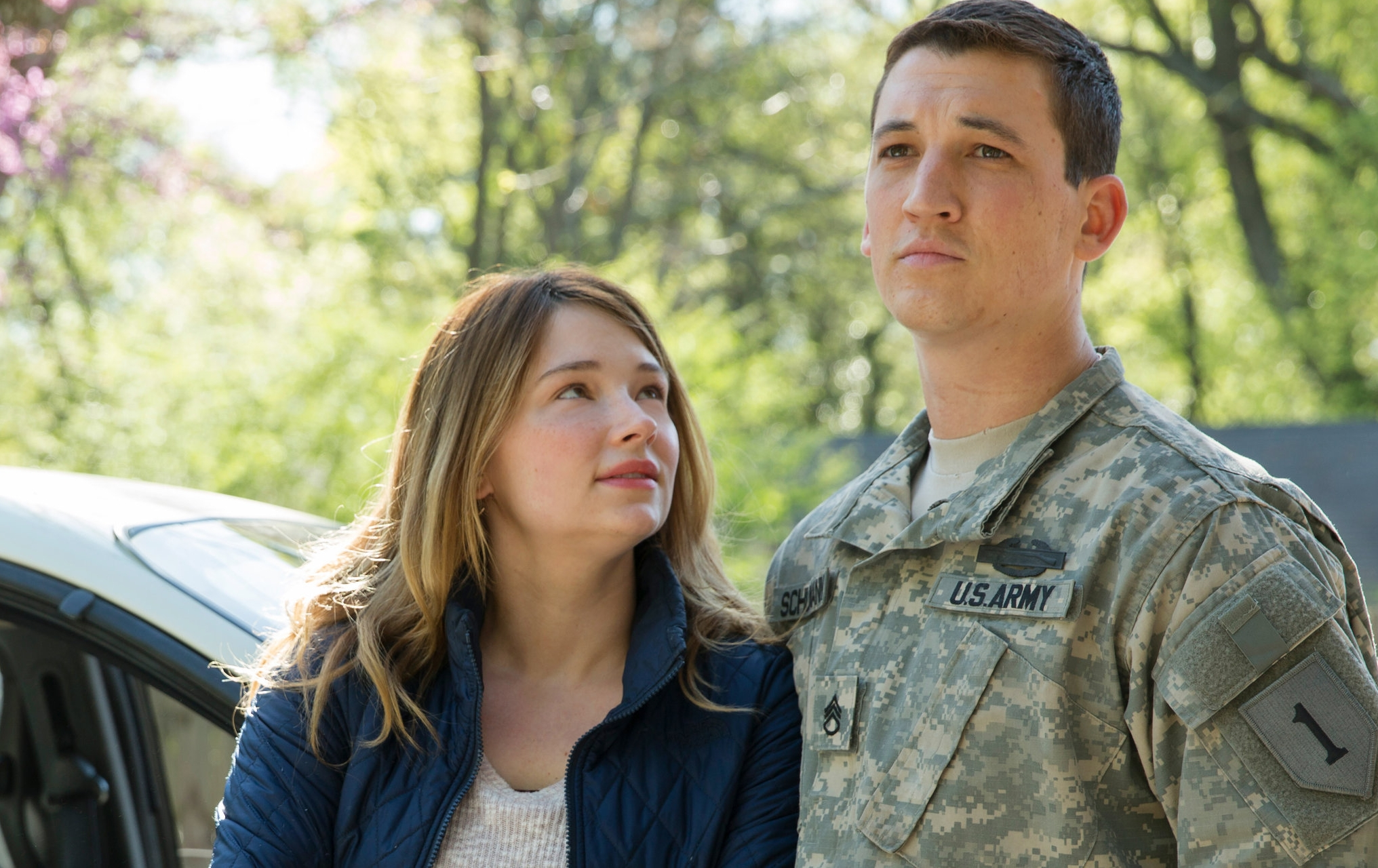 Haley Bennett outacts Miles Teller just by looking at him