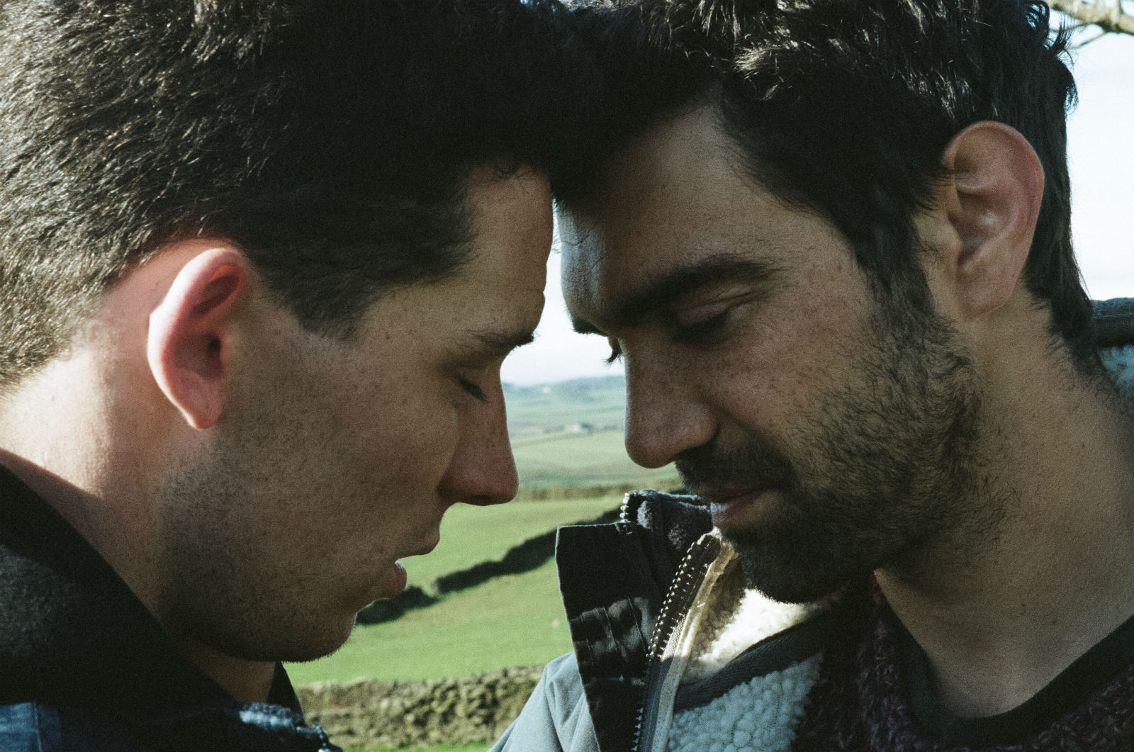 Josh O'Connor and Alec Secareanu: finding love among the lambs.