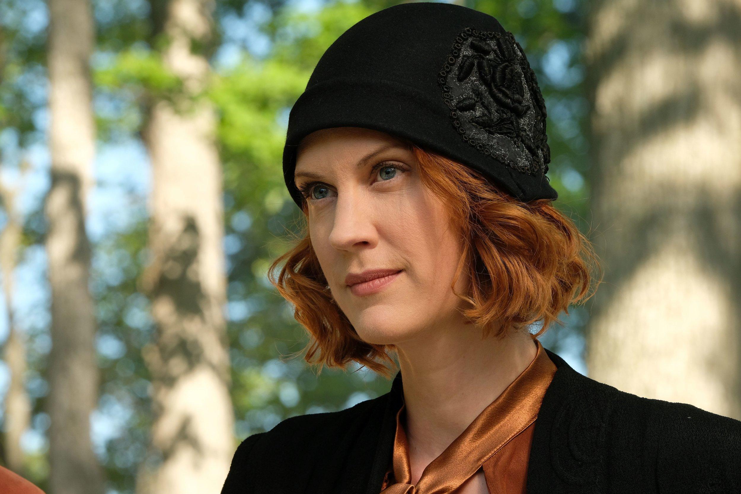 Lauren Lee Smith in CBC's Frankie Drake Mysteries