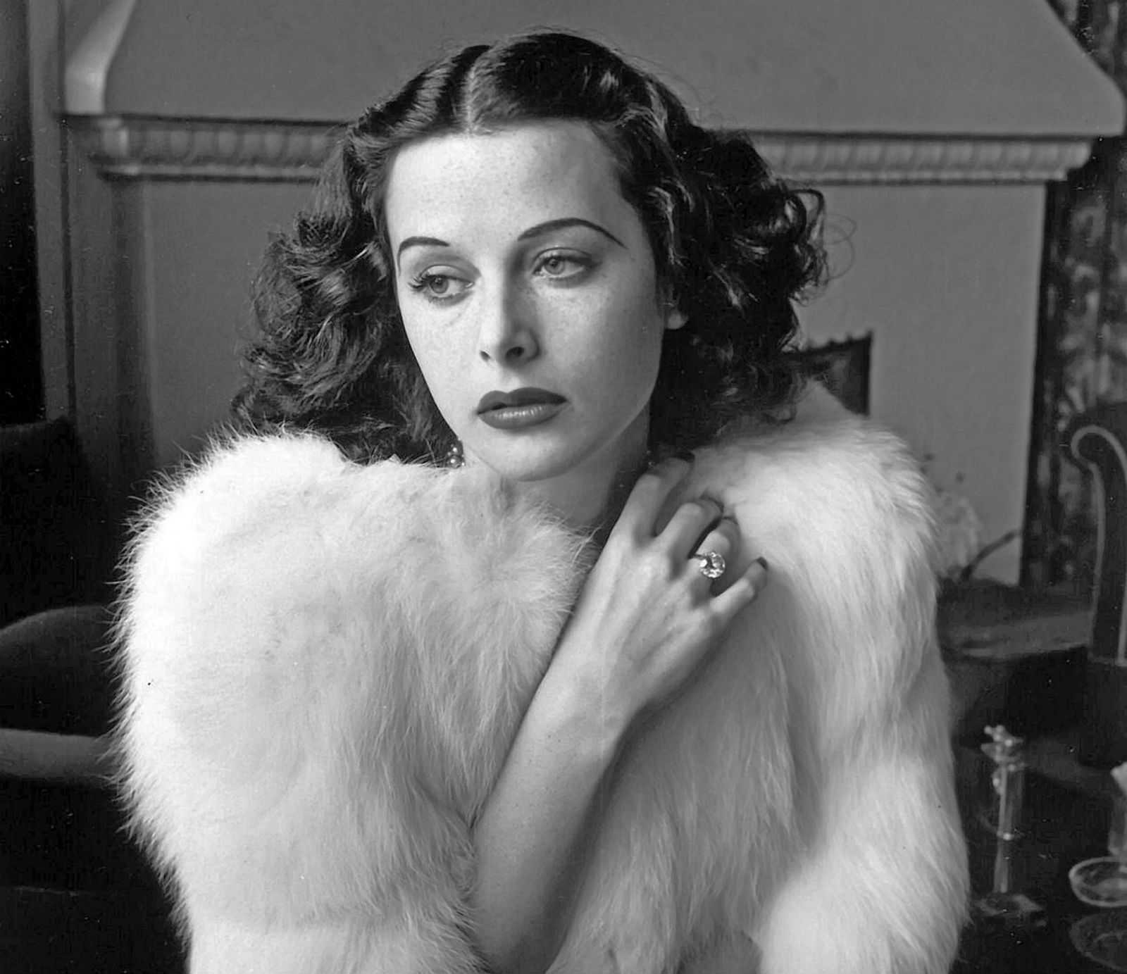 Real-life Snow White Hedy Lamarr.