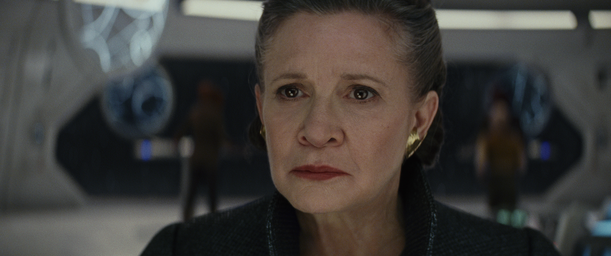 Fisher as Leia: Does she or doesn't she?