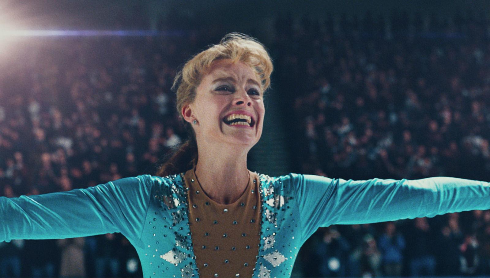 Margot Robbie as Tonya Harding.