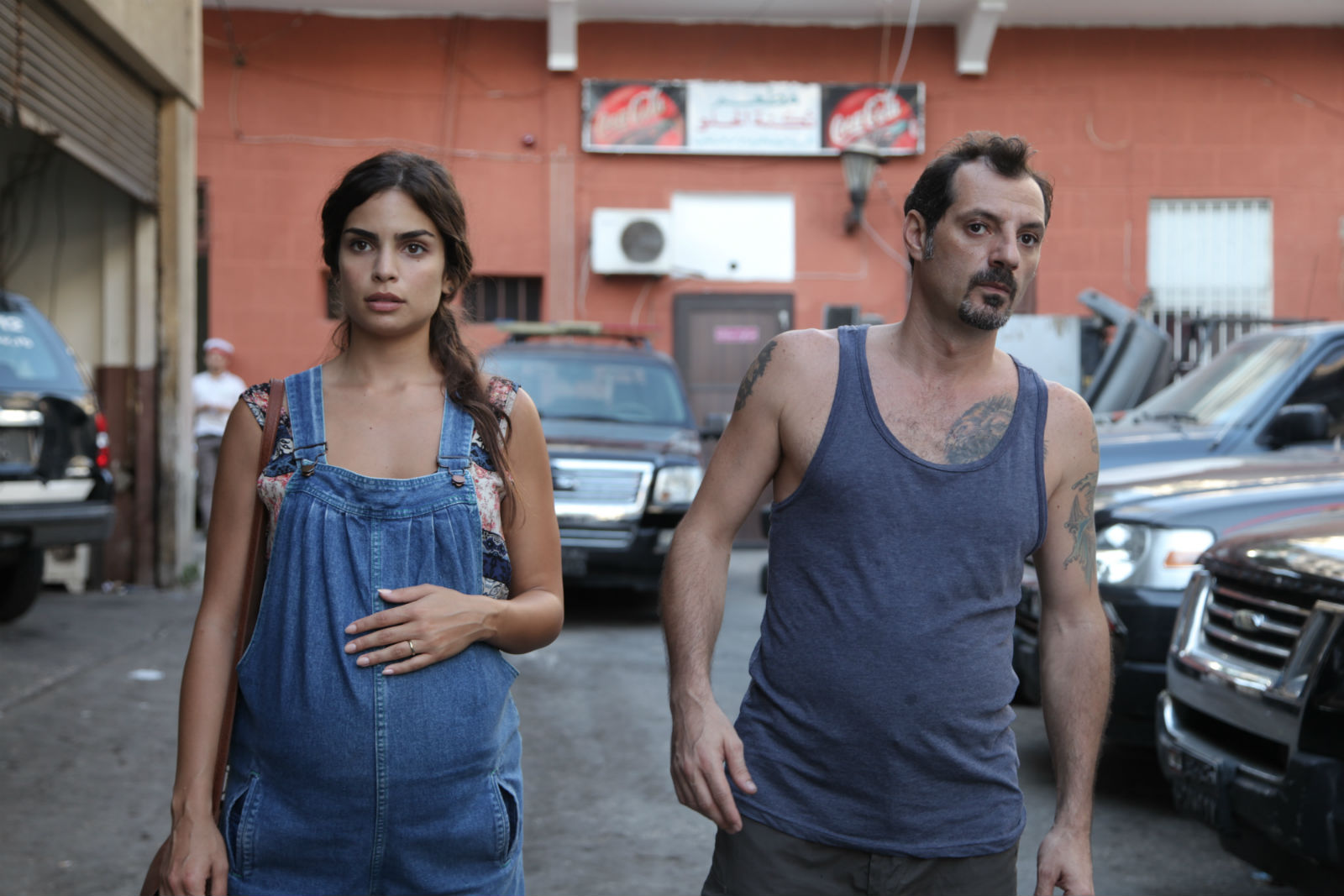 A scene from the Oscar-nominated The Insult.