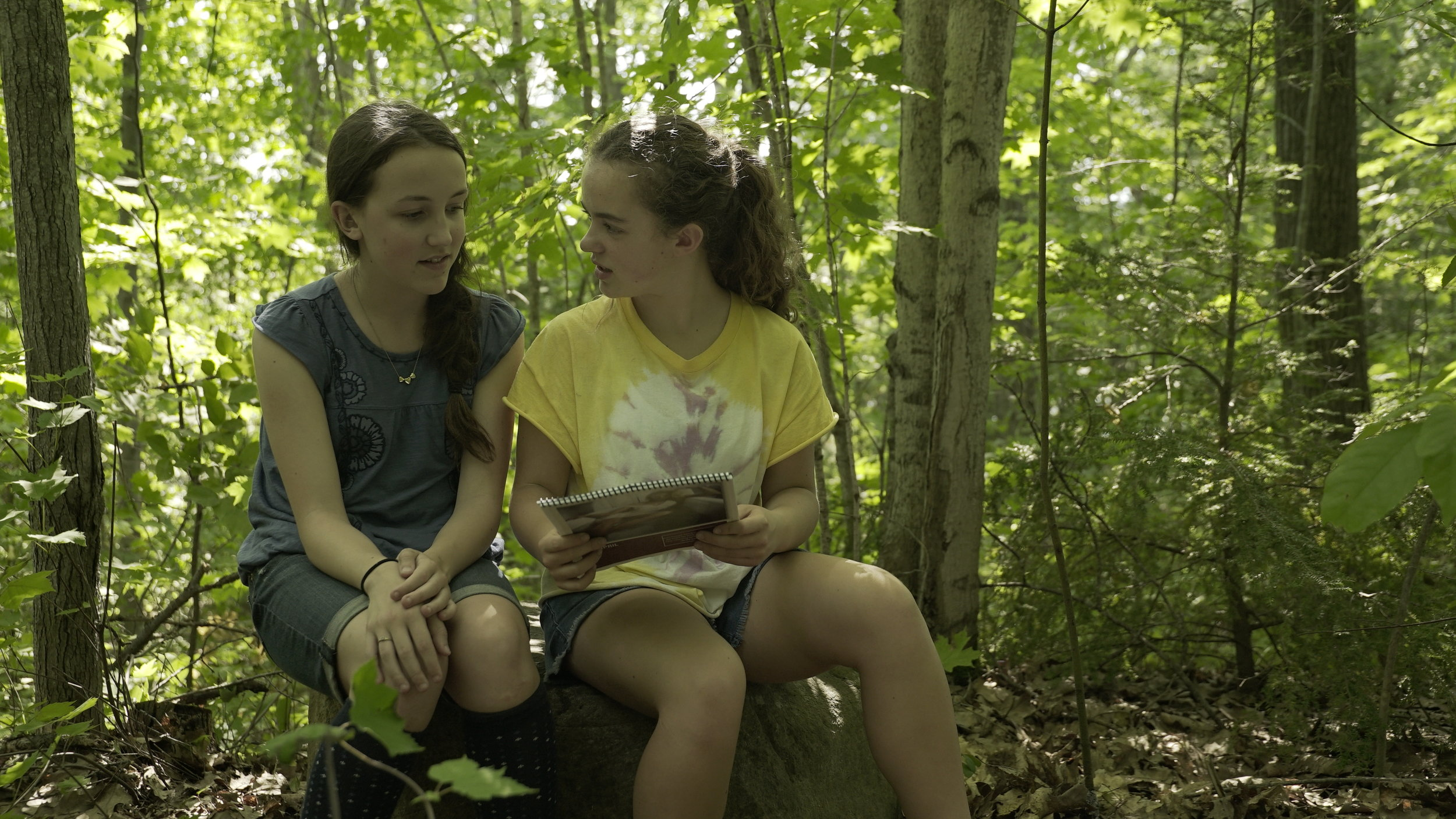 Charlotte Salisbury and Lucinda Armstrong Hall: An intense summer for unlikely best friends