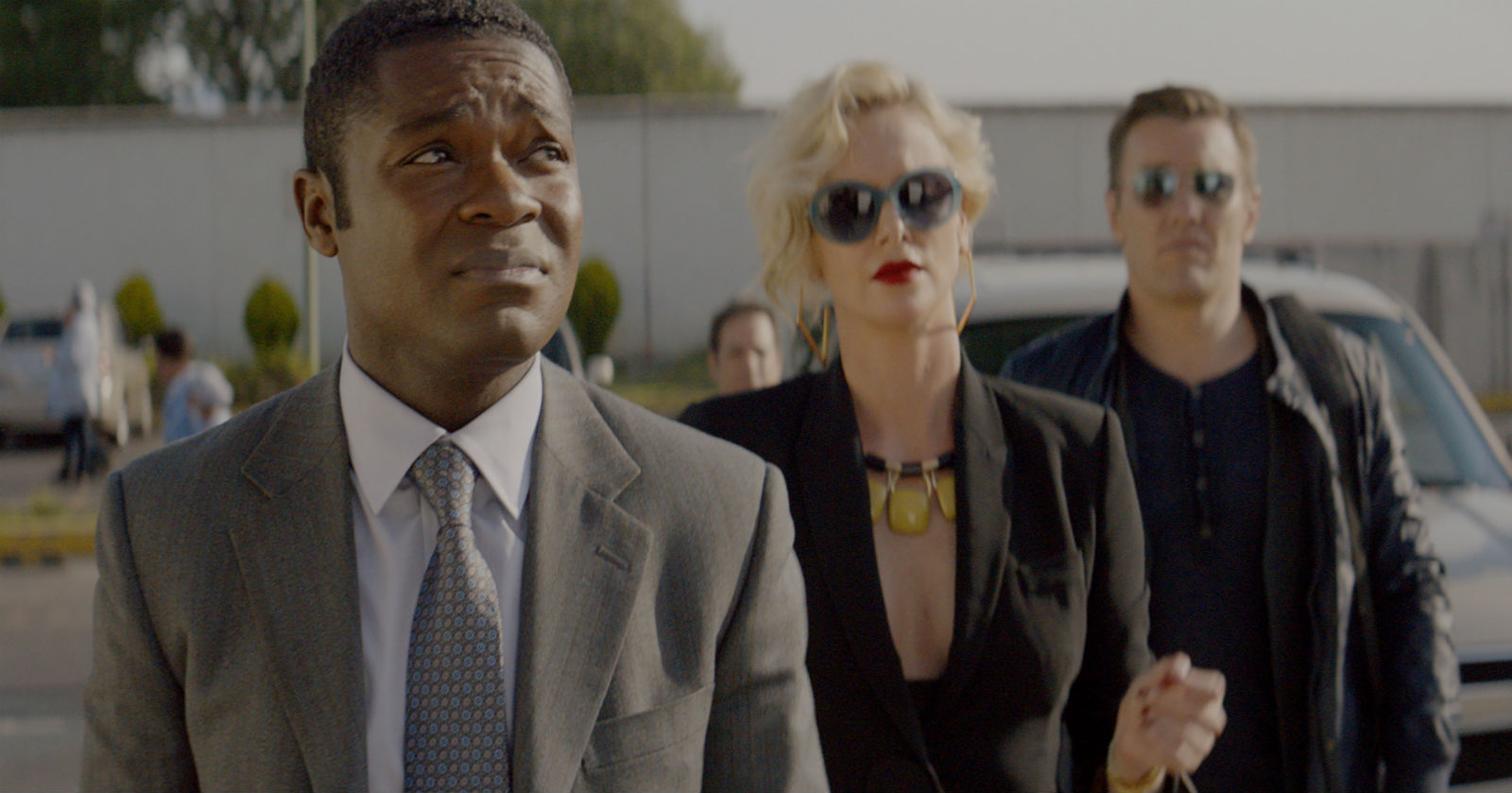David Oyelowo, Charlize Theron and Joel Edgerton... and the Mexican heat.