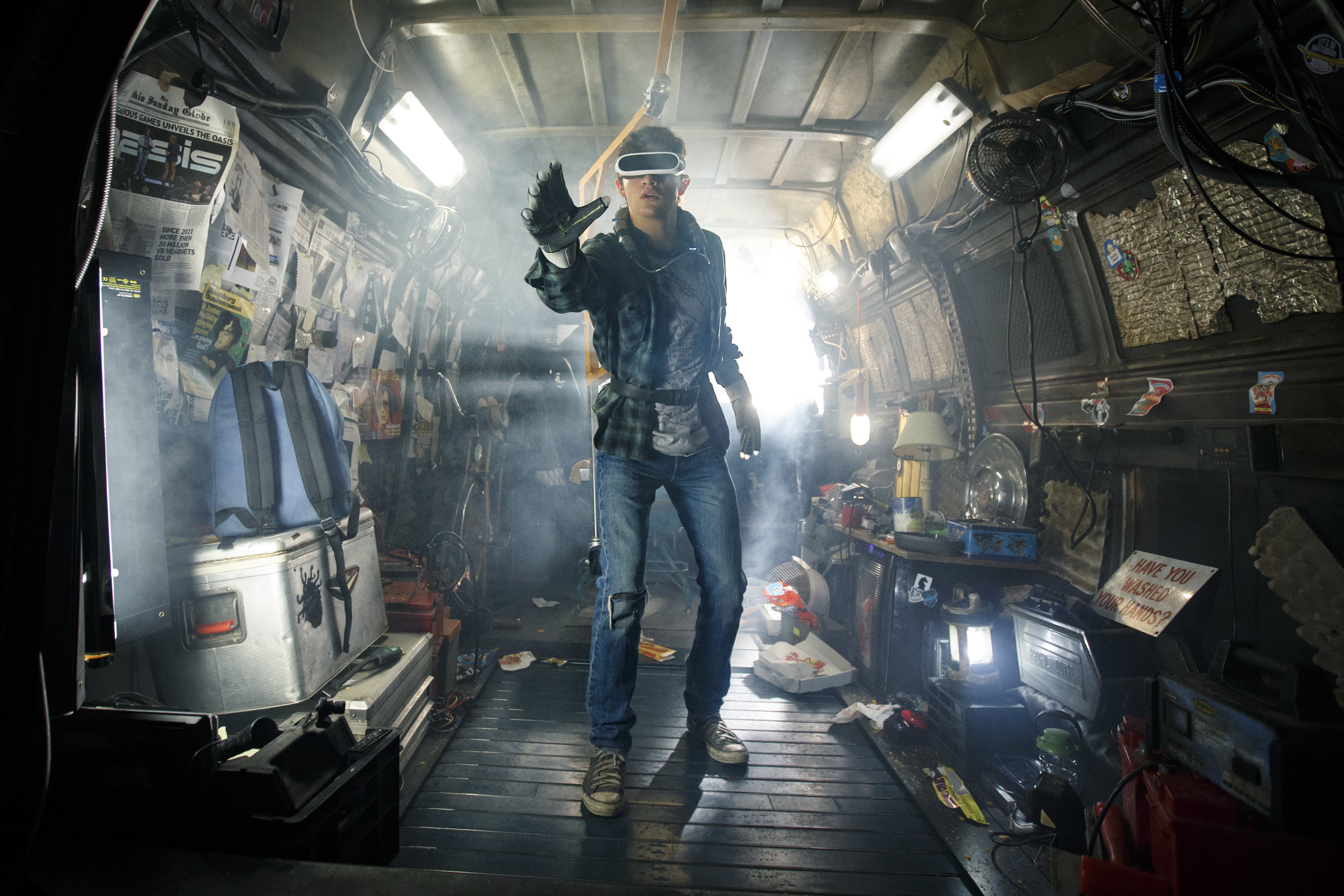 Tye Sheridan finds a whole new world in Ready Player One