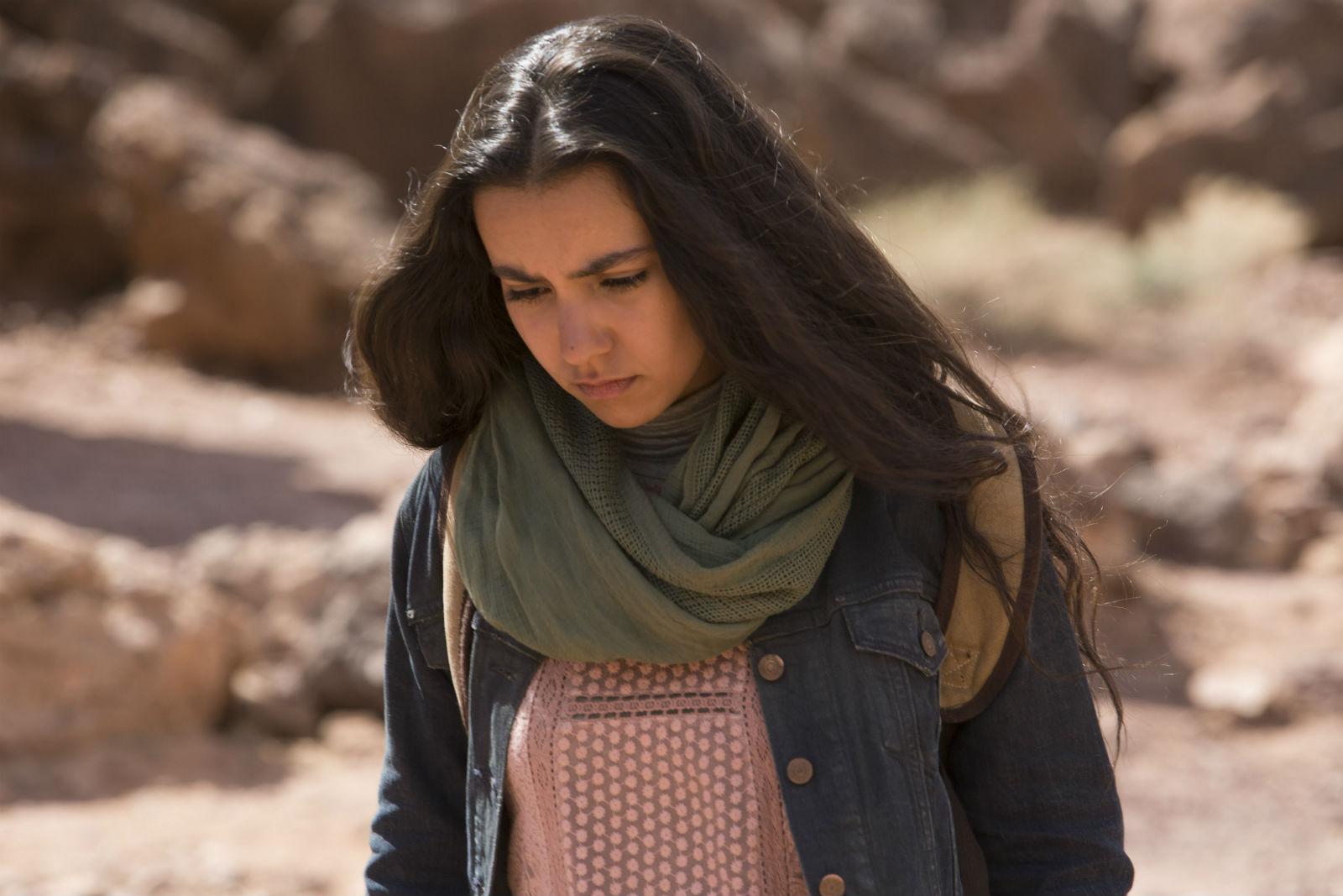 French actress Lina El Arabi.