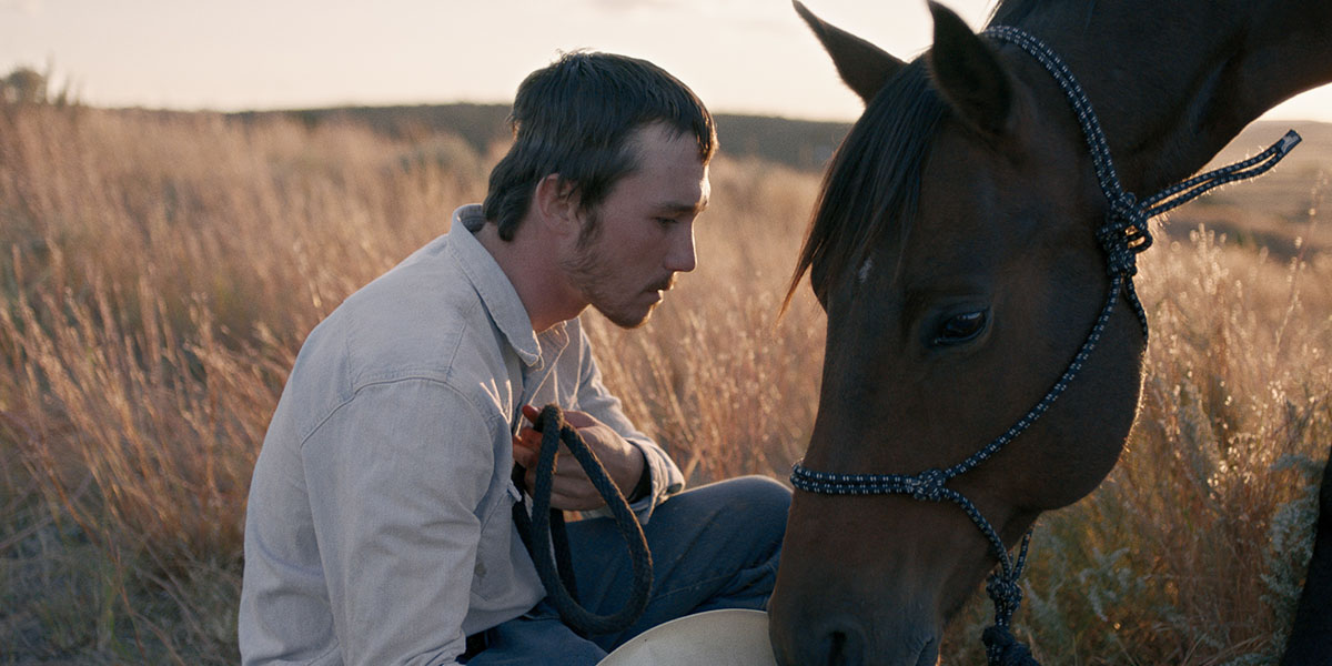 A scene from The Rider.
