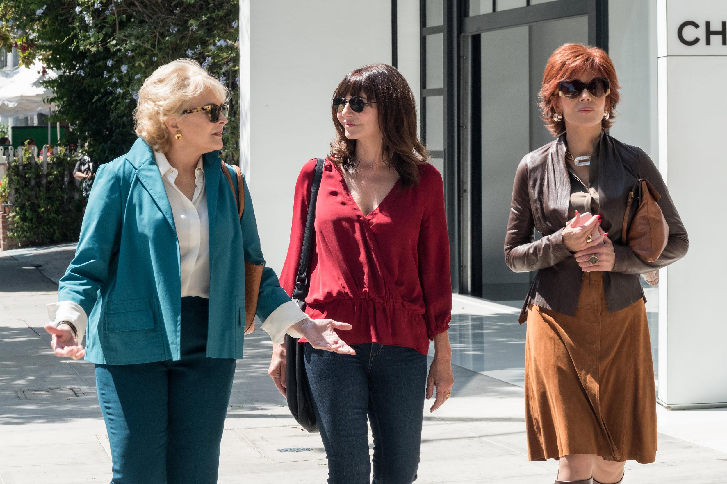 Candice Bergen, Mary Steenburgen and Jane Fonda get literary in Book Club