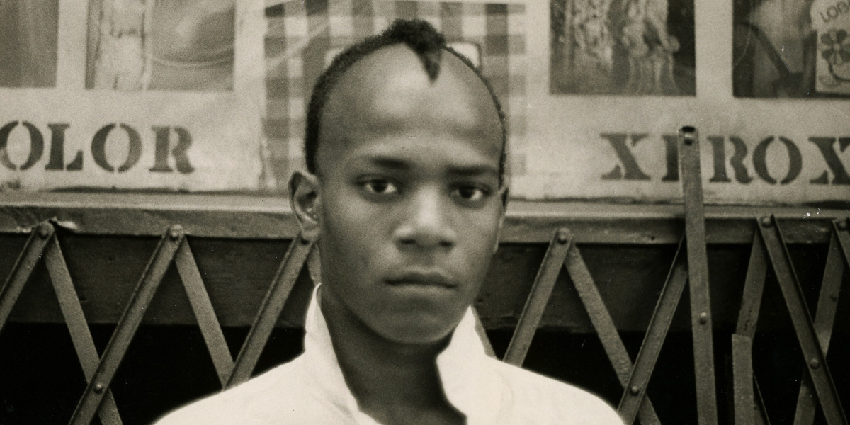The legend...Jean-Michel Basquiat