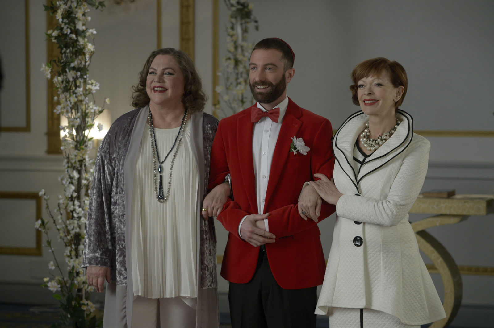 Kathleen Turner, Jacob Tierney and Frances Fisher... you can think it but don't say it out loud.