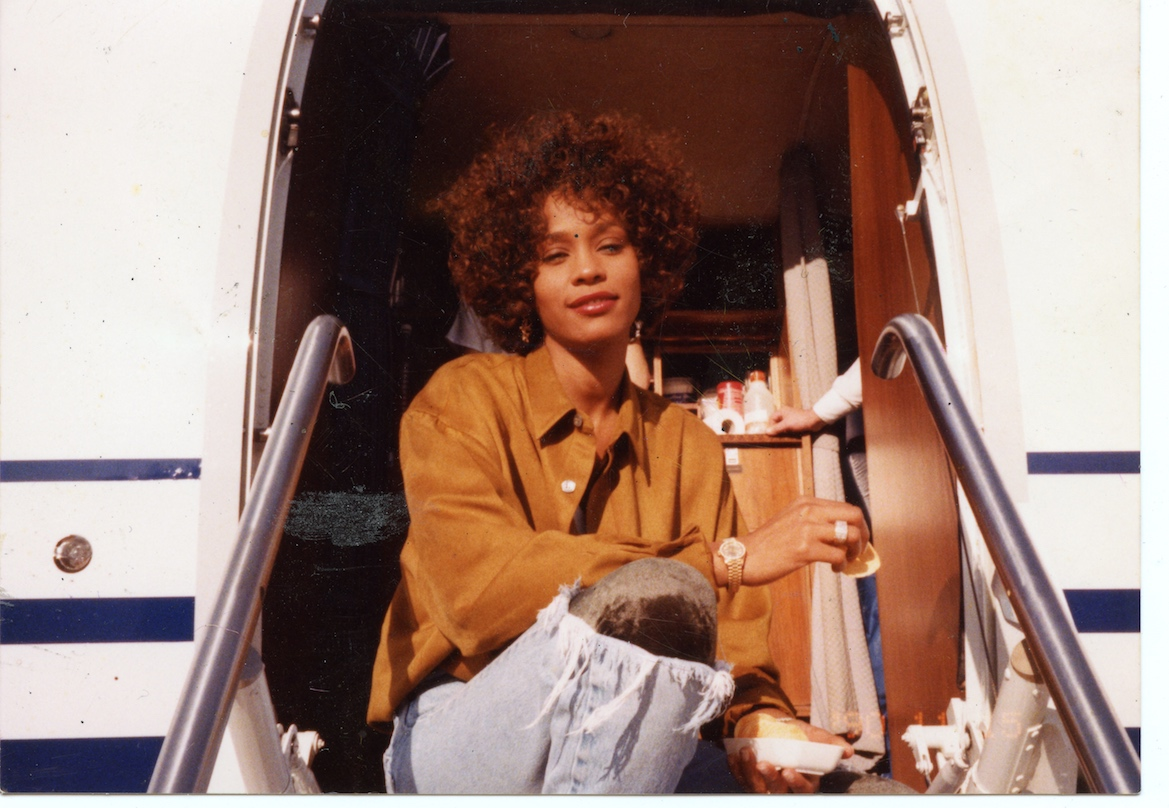 A scene from the documentary Whitney.