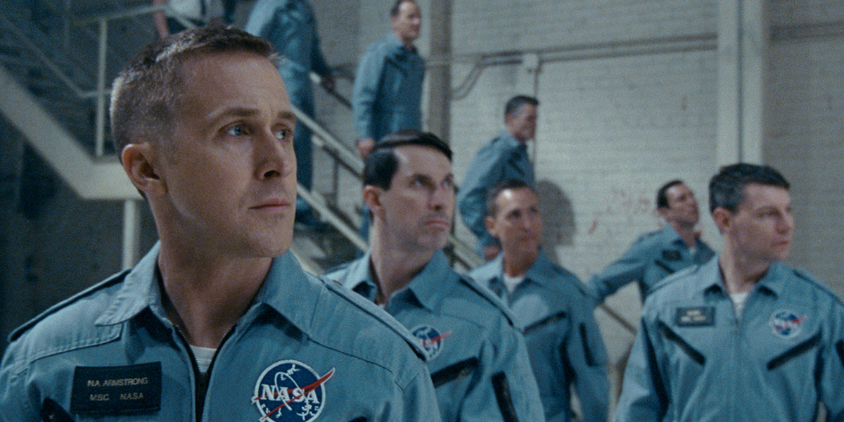 Ryan Gosling is astronaut Neil Armstrong in First Man