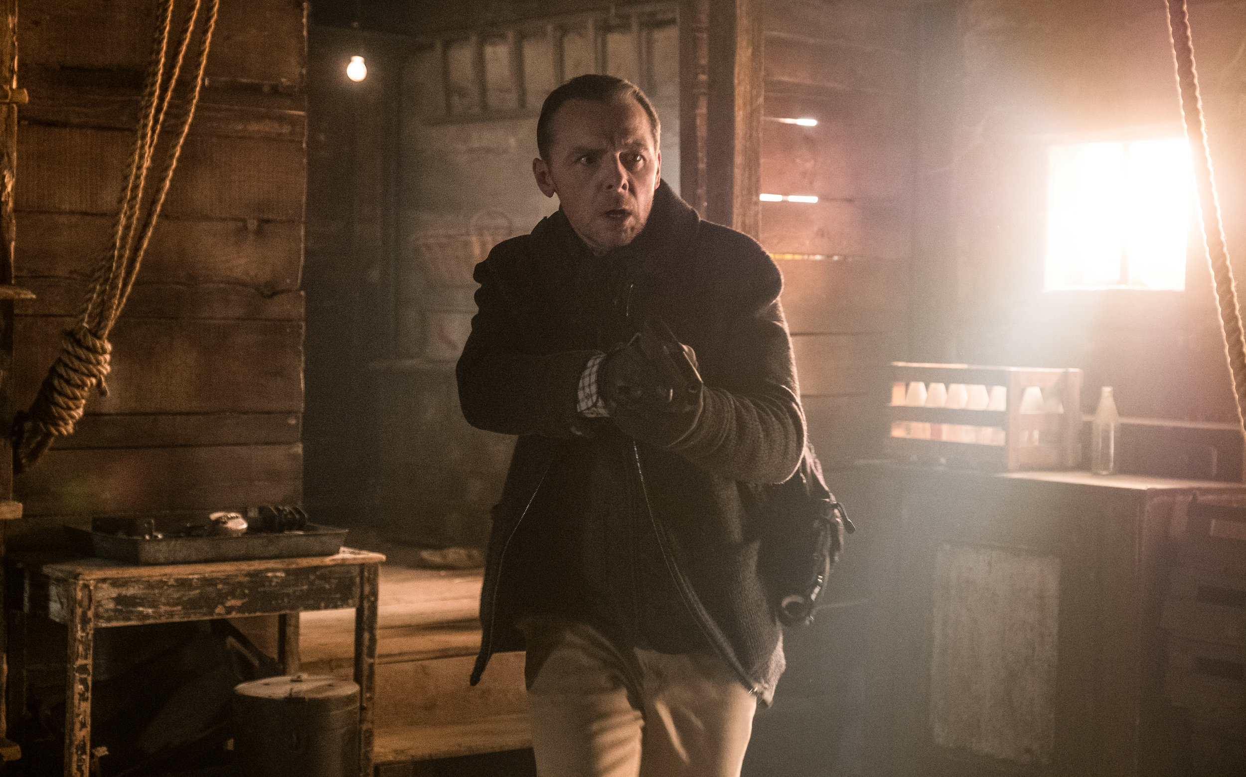 Simon Pegg had some action scenes of his own as Benji in Mission: Impossible - Fallout