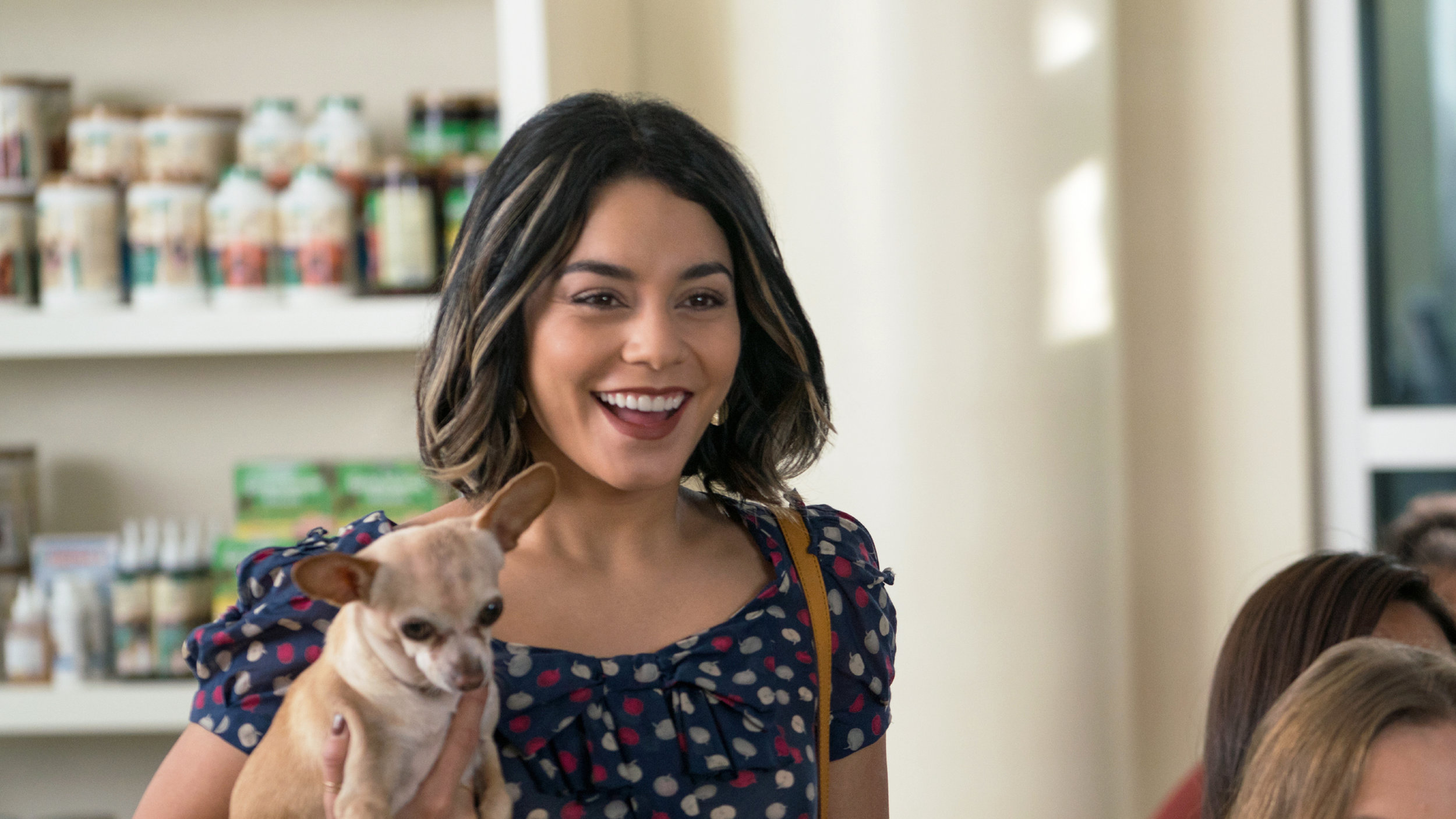 Dog Days' dog lover Vanessa Hudgens: Yes, you heard me right - cats equal Satan.
