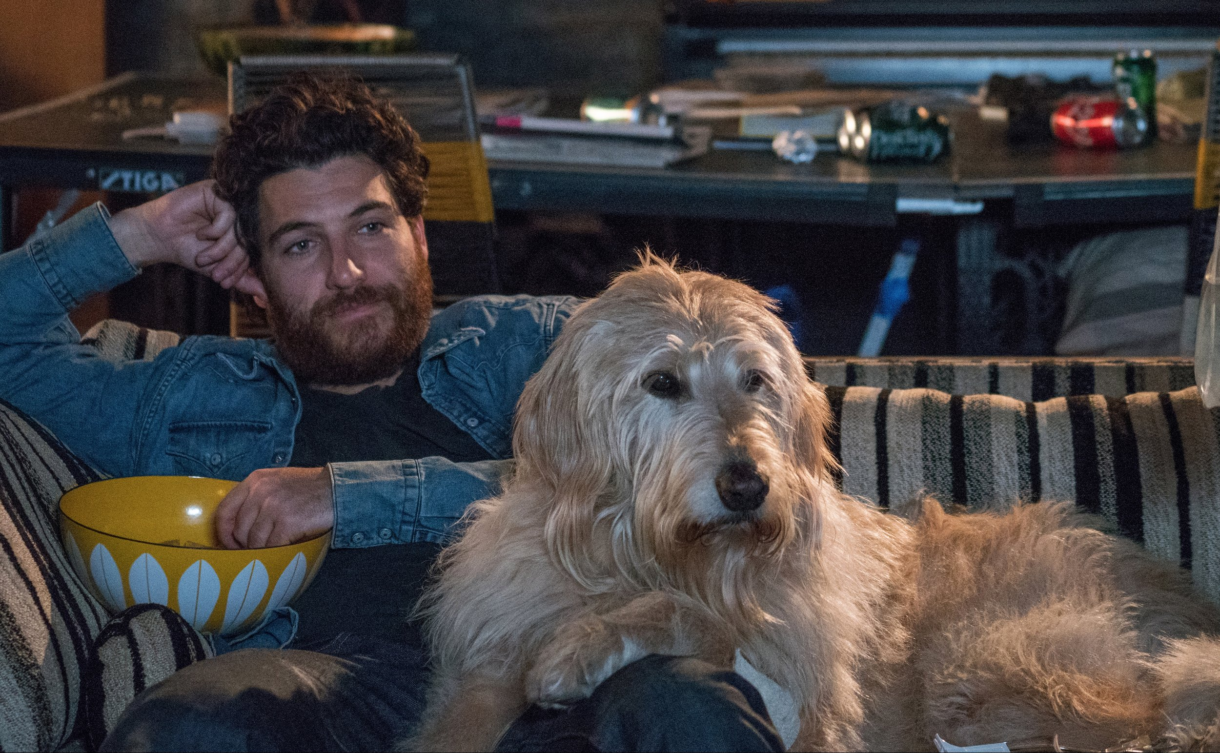 Dog Days' Pally and Charlie: The dog and human that get stoned together... um, I forget the rest.