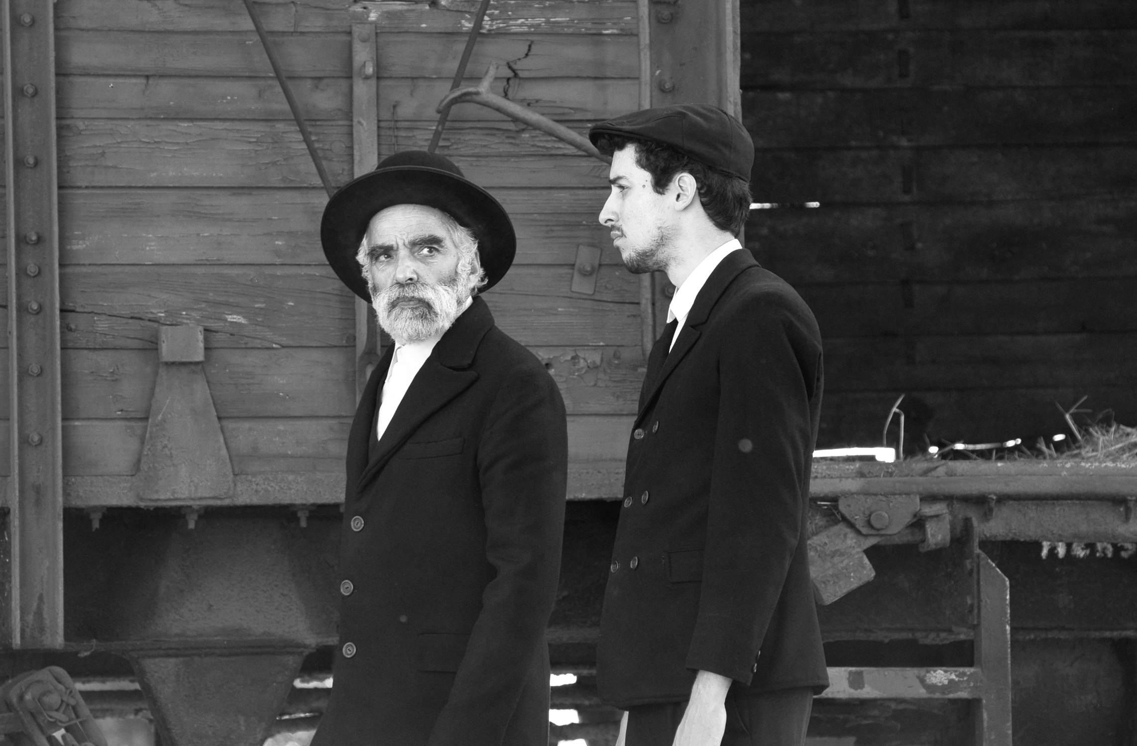 Two silent Jewish visitors turn a Hungarian town upside down by their mere presence in 1945