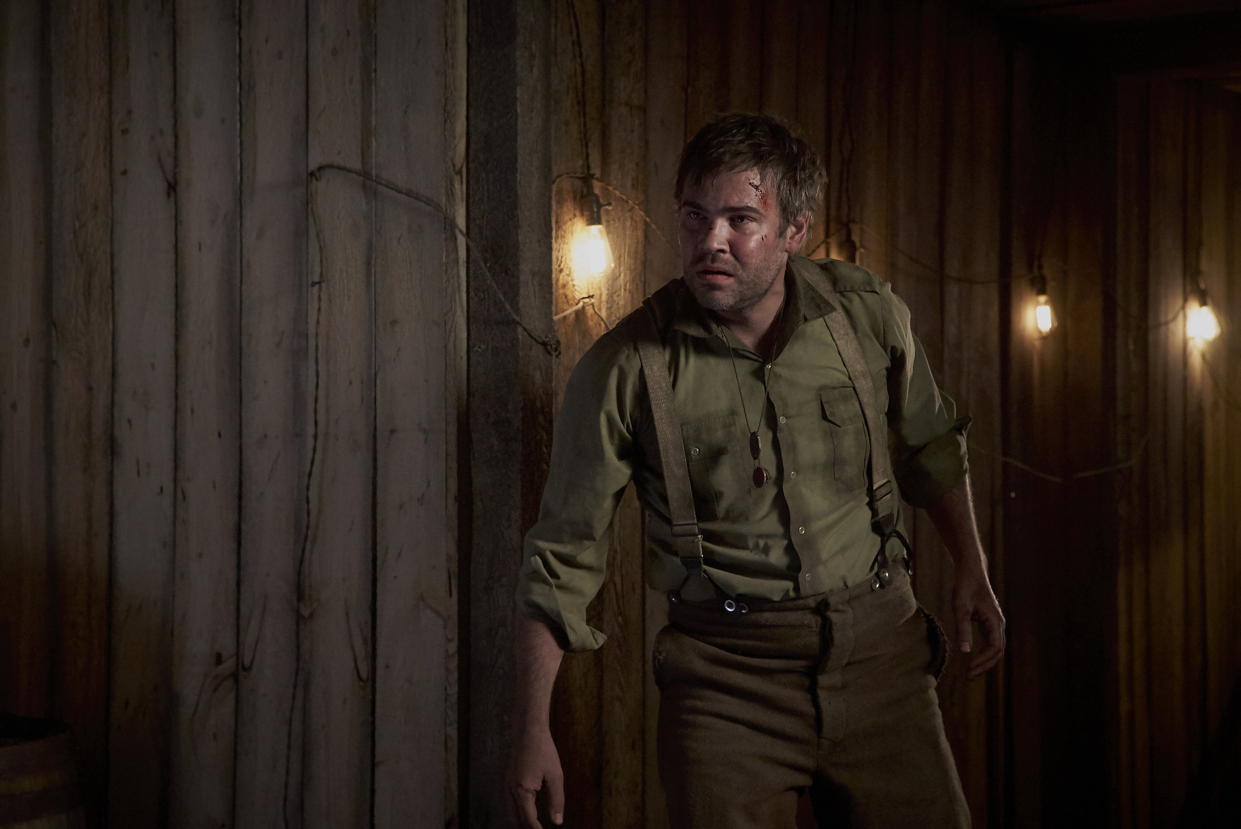 Rossif Sutherland has a bad feeling about that German underground bunker in Trench 11
