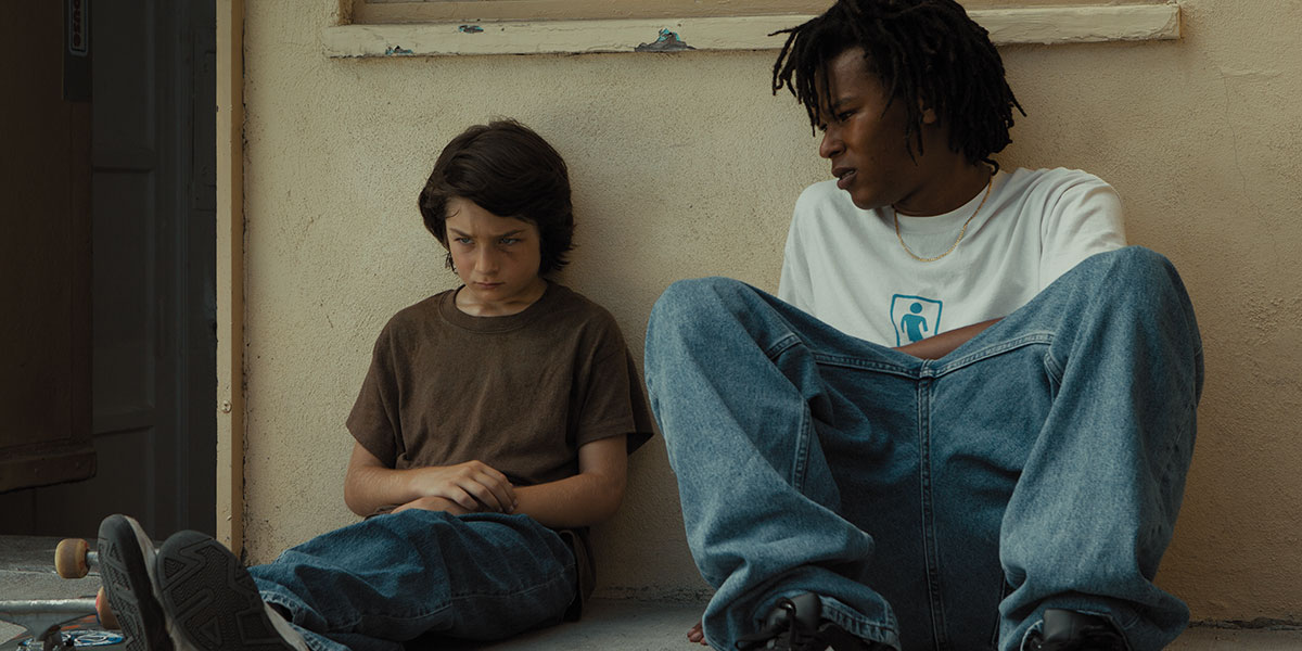 A scene from Jonah Hill's directorial debut, Mid90s.