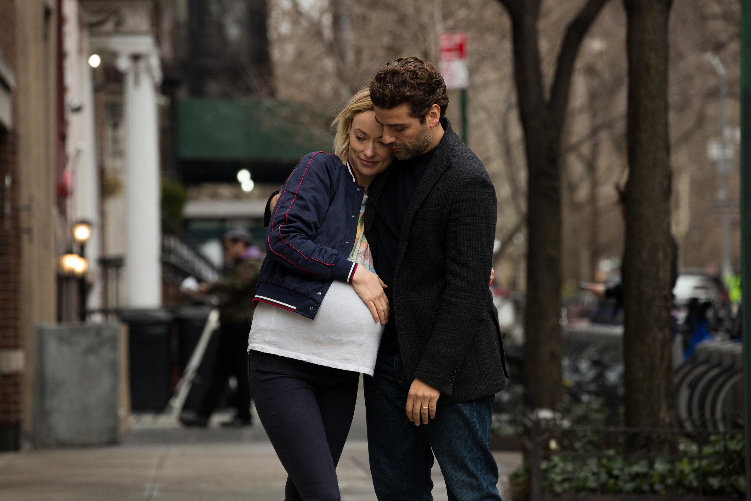 Olivia Wilde and Oscar Isaac in Life Itself