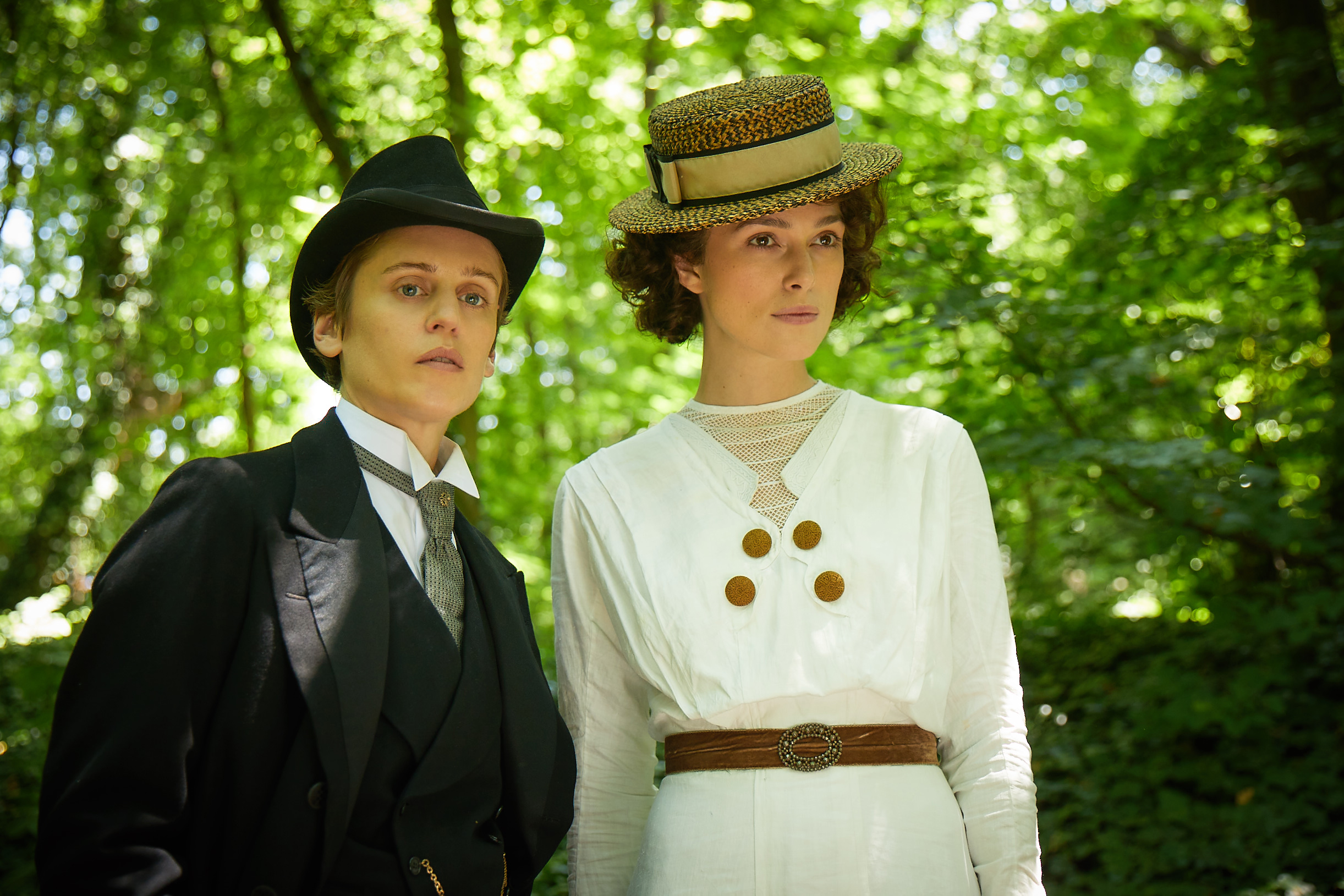 Denise Gough plays Missy, the longtime love interest of Colette (Keira Knightley)