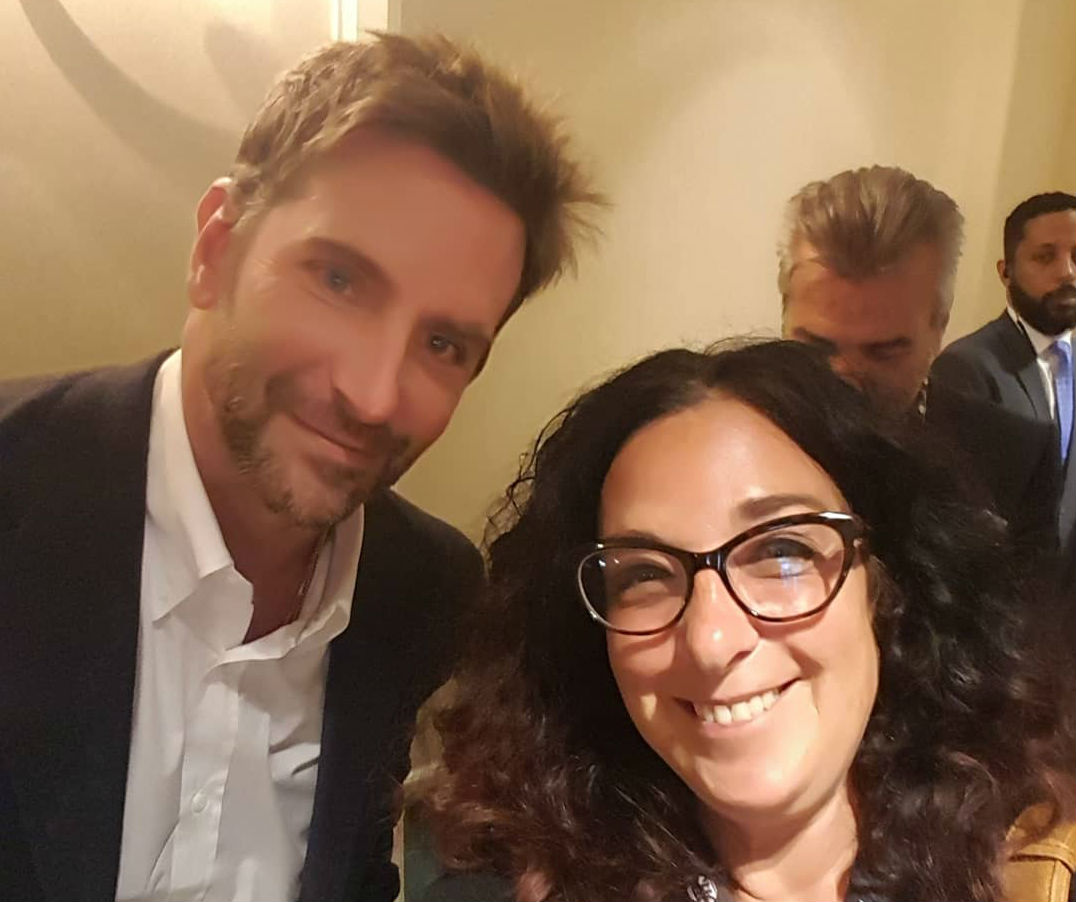 Bradley Cooper meets Bonnie Laufer… and is blown away.