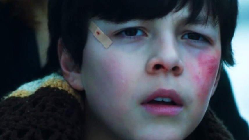 Luca Villacis is Henry, a boy in peril in his creepy grandfather's farmhouse in Knuckleball.