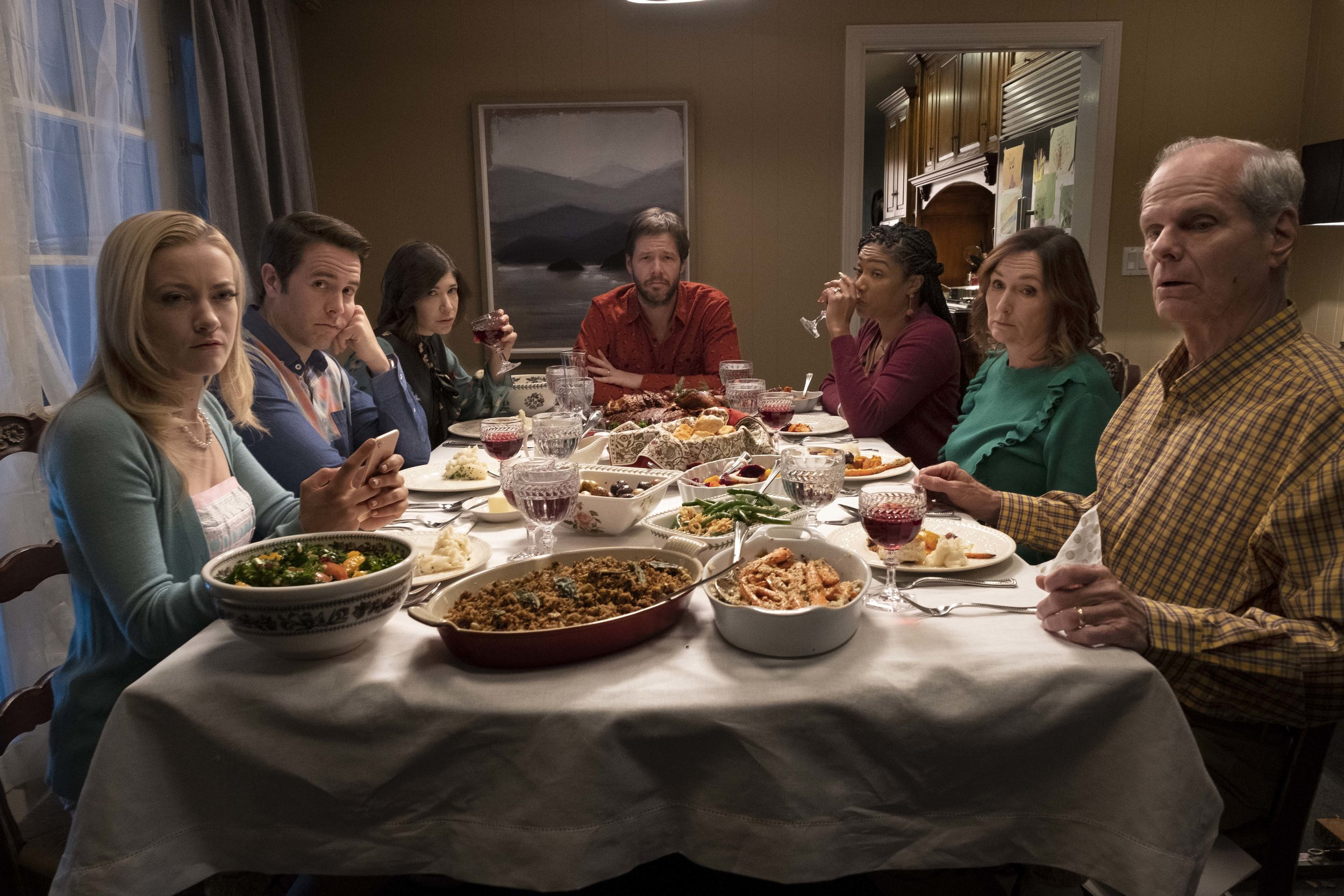 The Oath: The family that eats Thanksgiving dinner together, argues together