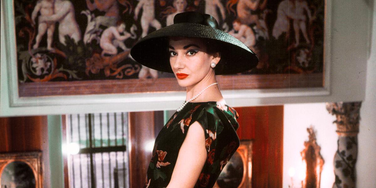 Callas: The century's greatest opera singer talks - sort of.