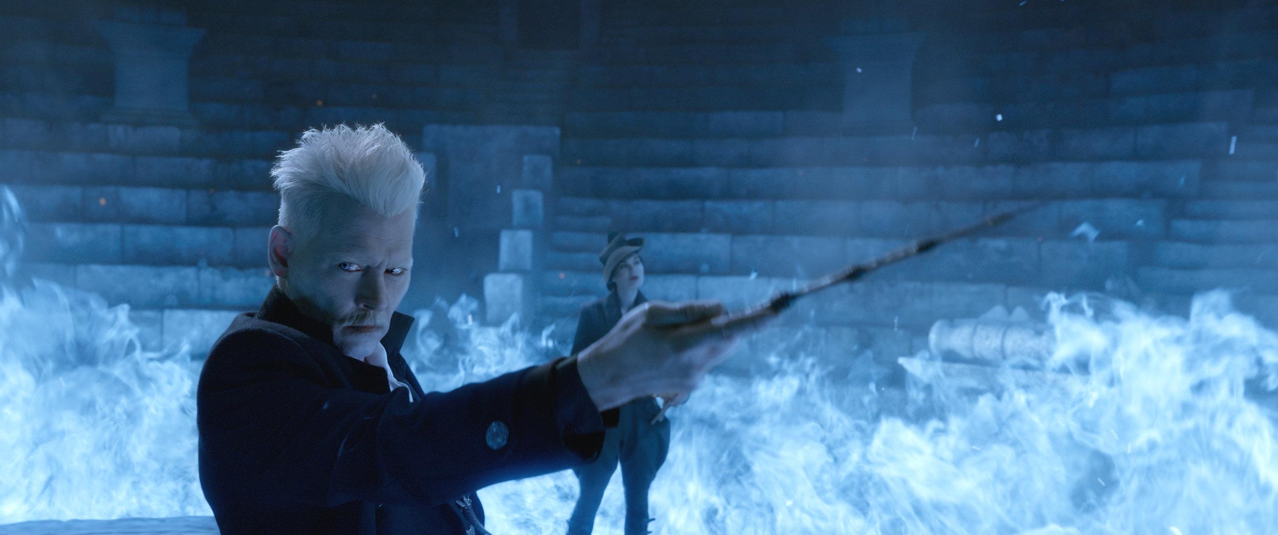 Depp as Grindelwald. More evil than Voldemort? Really?