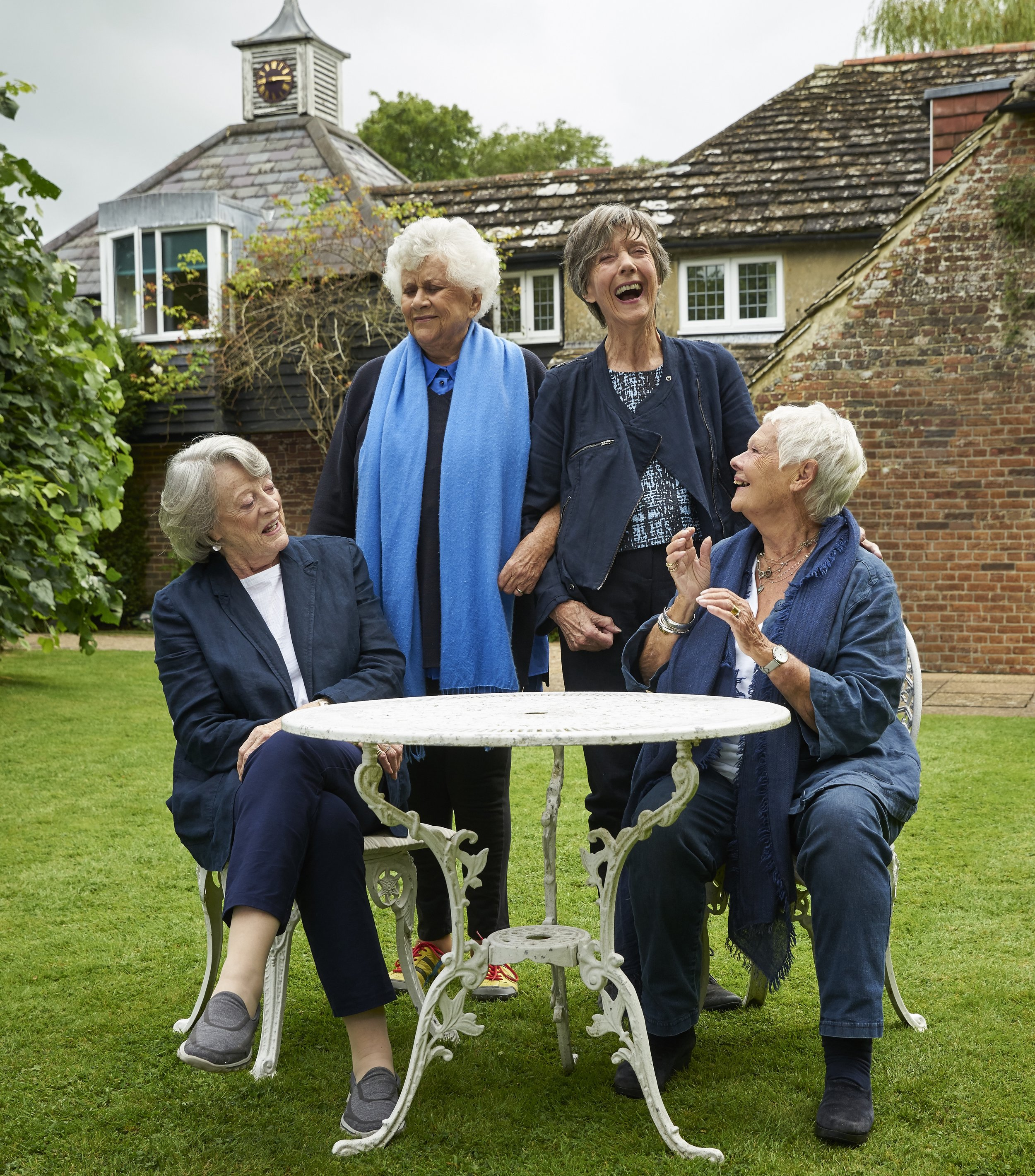 Dames Smith, Plowright, Atkins and Dench in Nothing Like A Dame