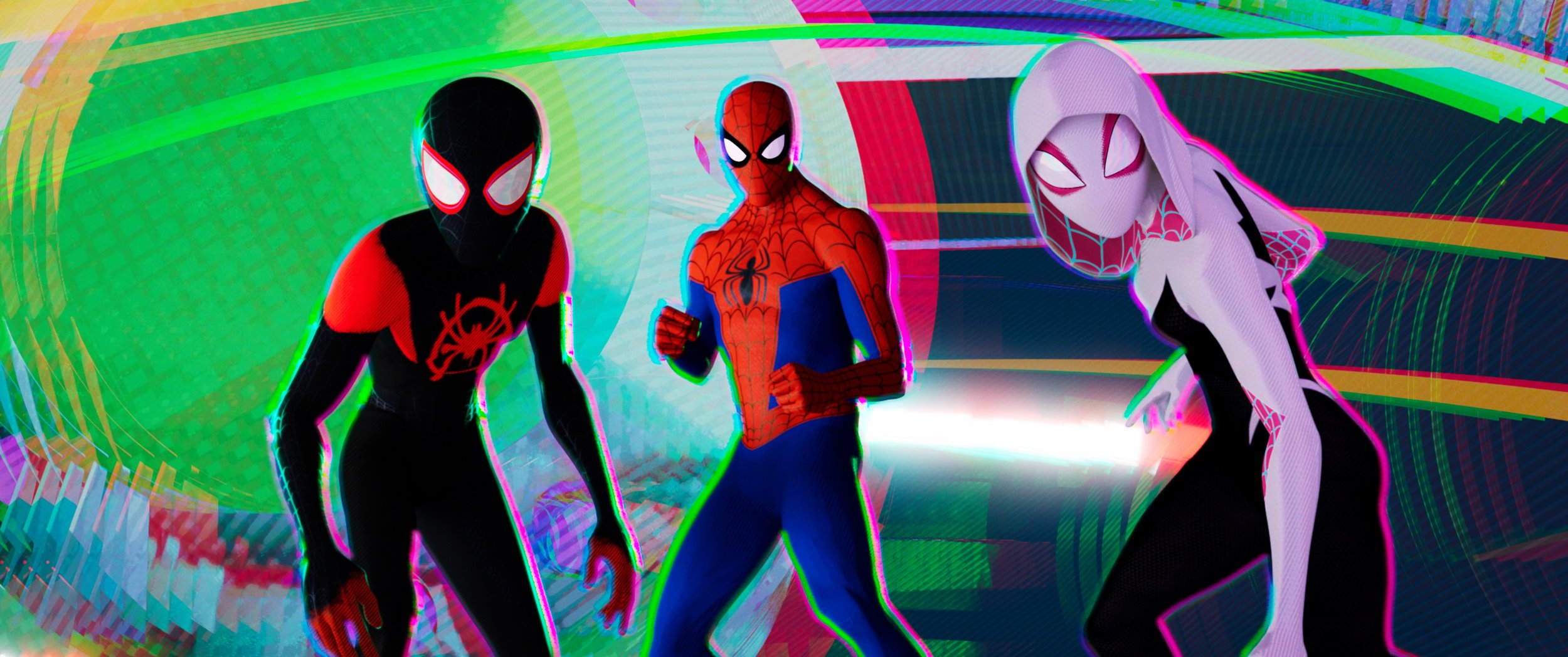 Spider-Man: Into the Spider-Verse. As many Spider-Persons as it takes.