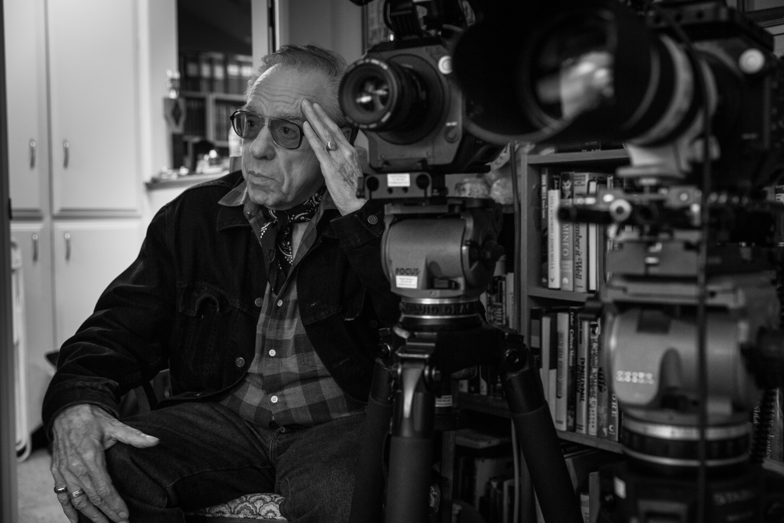 Filmmaker Peter Bogdanovich.