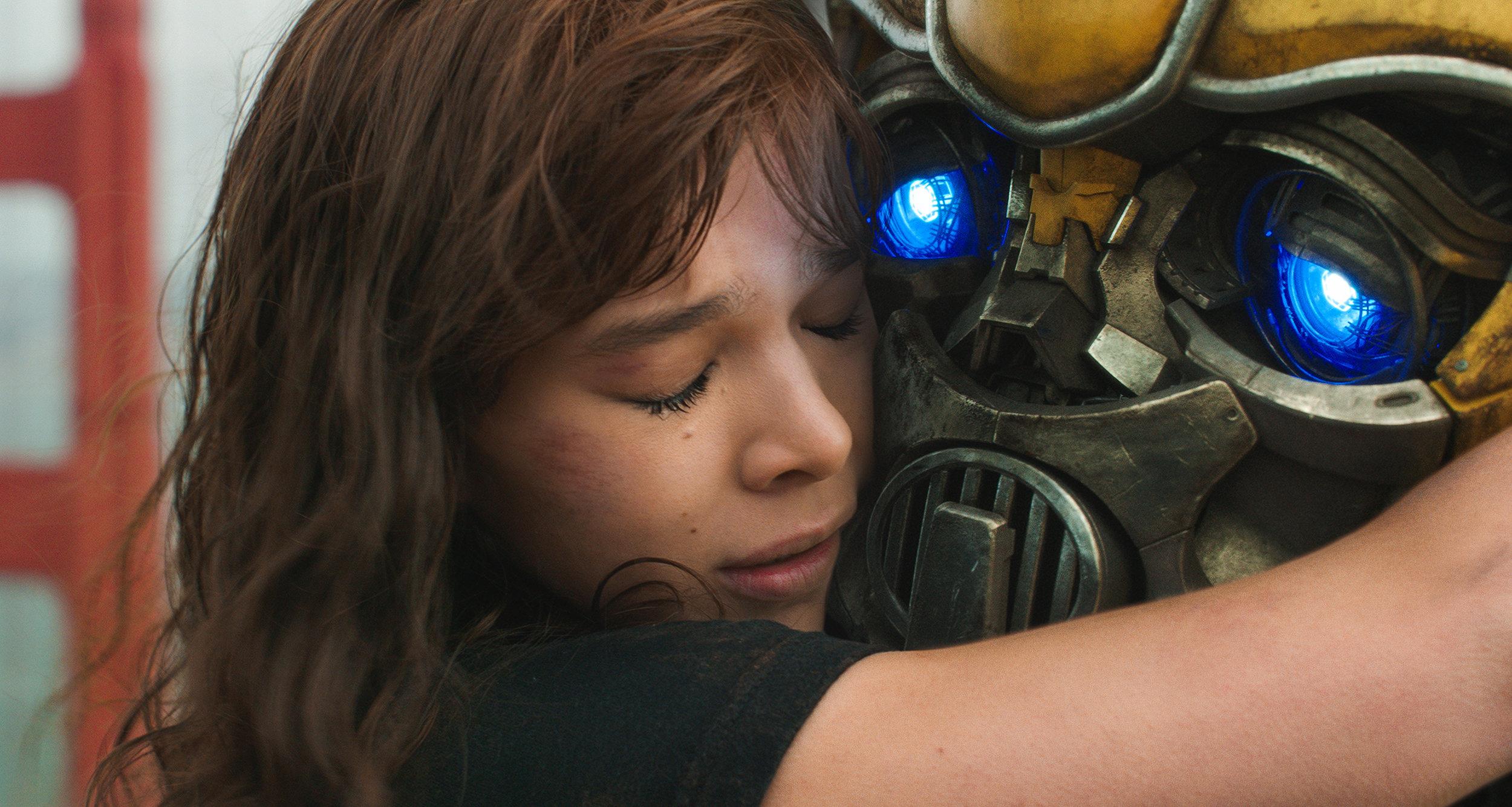 Bumblebee: A girl's best friend is her robot.