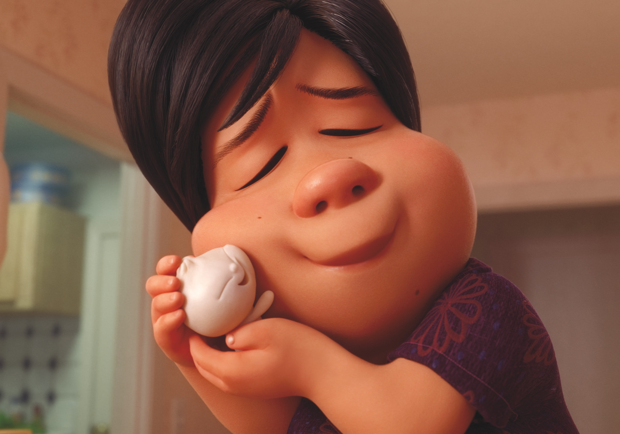 A scene from Domee Shi's Pixar short Bao