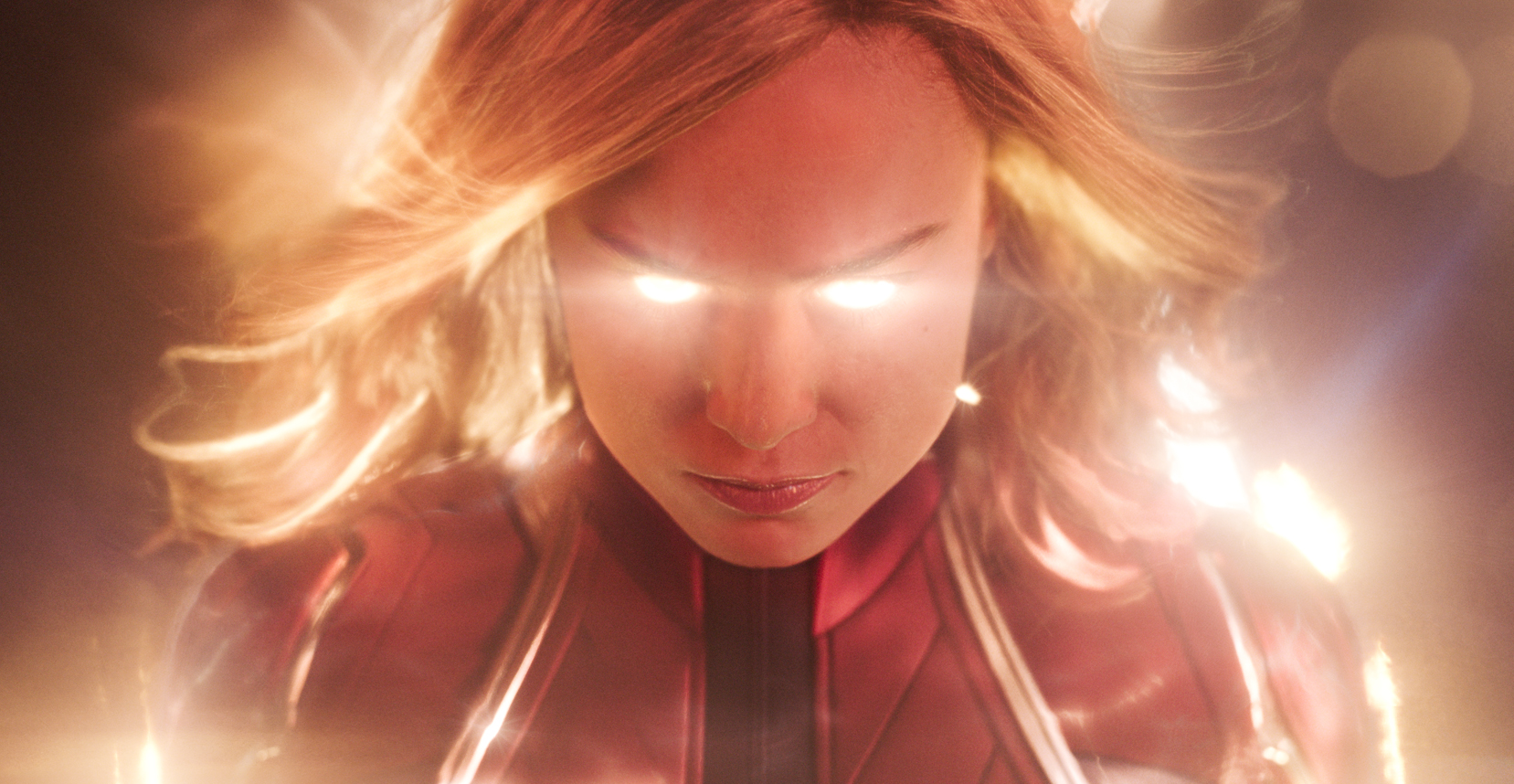 Brie Larson as Captain Marvel: You wouldn't like her when she's angry.