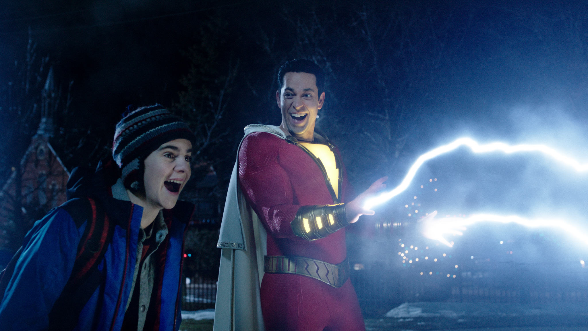 Shazam!: Never forget, super-powers are meant to be fun!